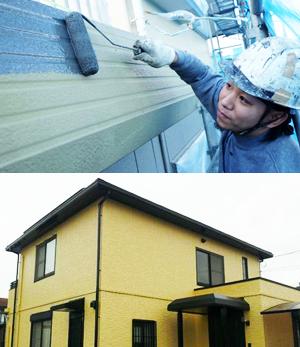 宇都宮  外壁塗装 Rコーポレーション
